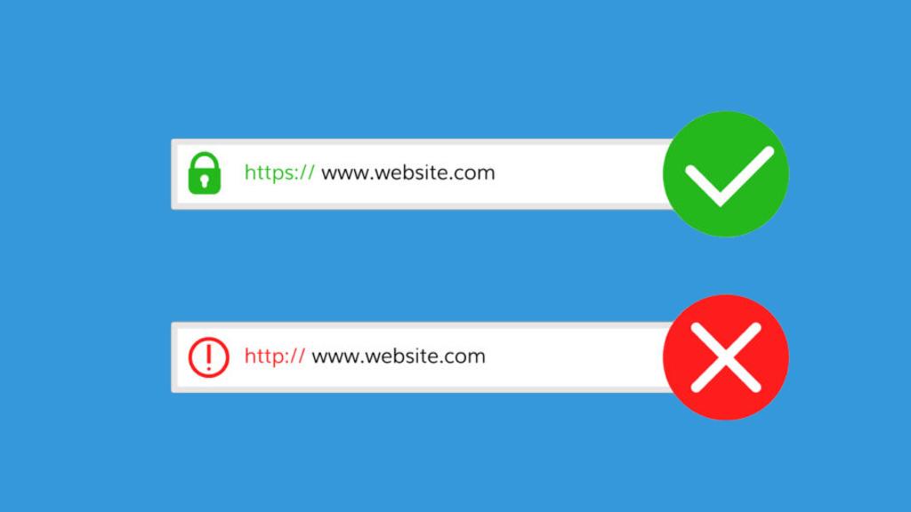 SSL secured certificate