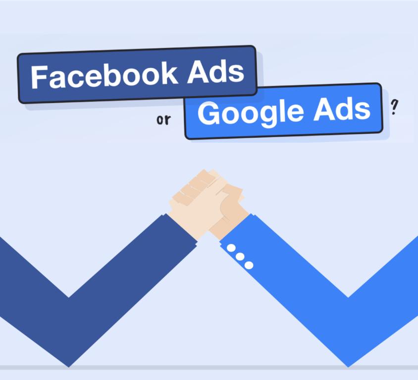 Google Ads vs Facebook Ads blog